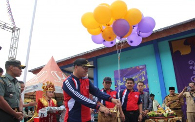 Gubernur Apresiasi Cendana Fair SMAN 5 Bengkulu